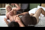 Scissor Hold Wrestling Handjob Part 3