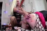 Crossdresser Getting Spanked and Deep Throating a Huge Strapon Dildo, Part 5