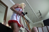 Naughty Nurse Personal slave Inspection with a Penis Pump Part 2